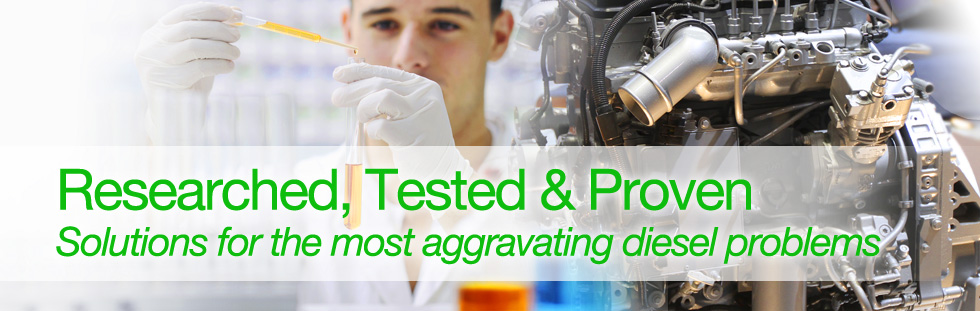 Researched, Tested, &amp; Proven. Solutions for the most aggravating diesel problems