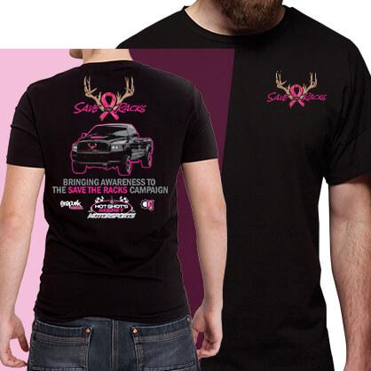 "110fab8cbf Save the Racks"" T-Shirt - Hot Shot s Secret® - Powered by Science"