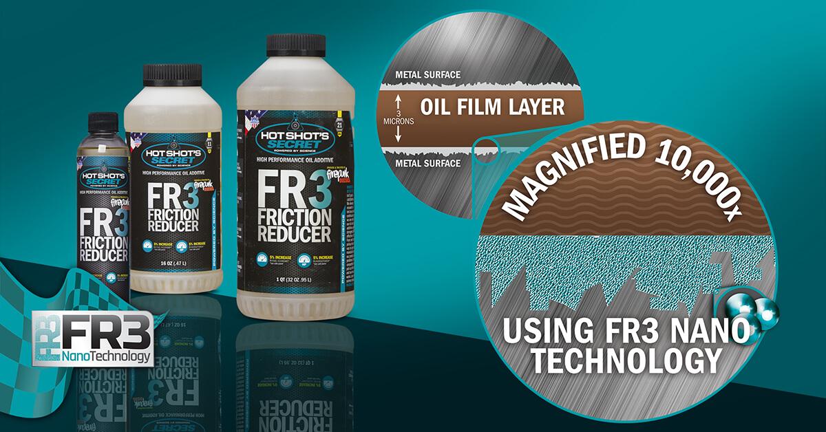 FR3 Friction Reducer nanotechnology