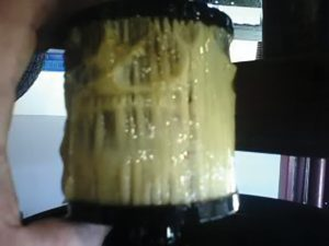 gelled diesel fuel filter